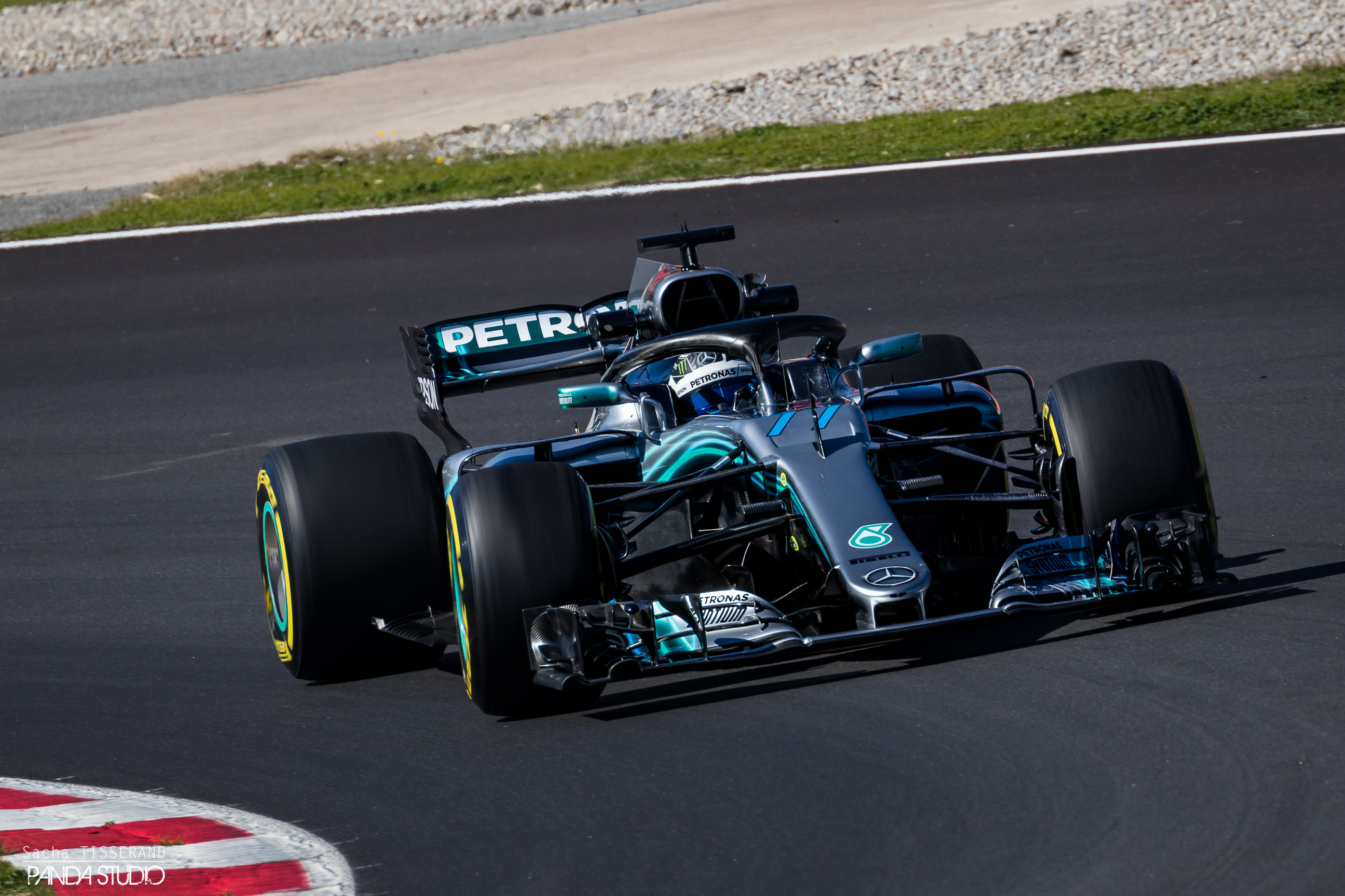 Valteri Bottas - Tests hivernaux Barcelone 2018