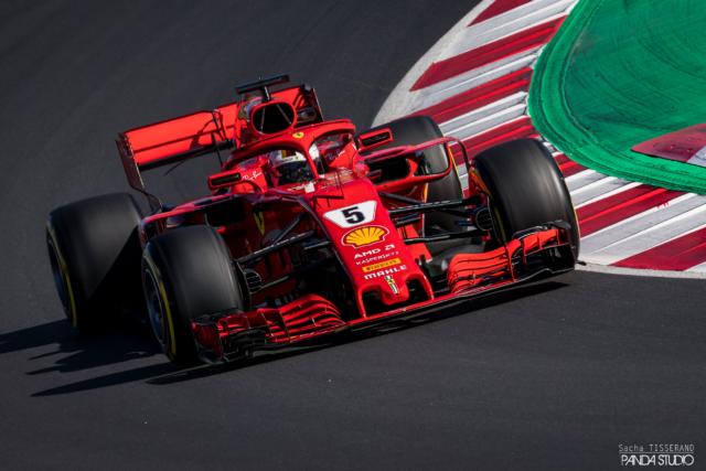 Sebastian Vettel - Tests hivernaux Barcelone 2018
