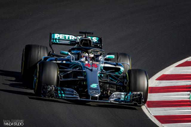 Lewis Hamilton - Tests hivernaux Barcelone 2018