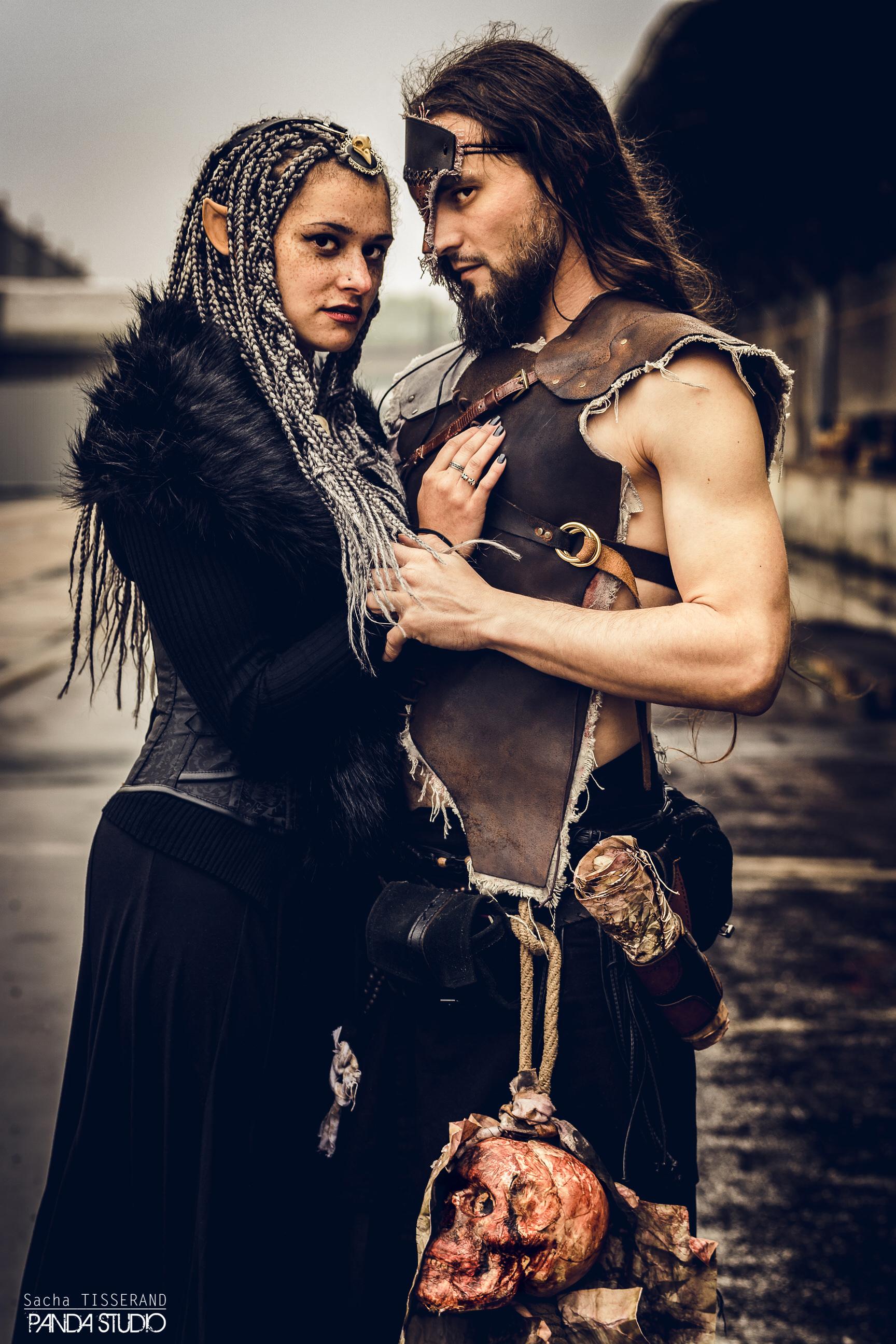 Dame Akasha et Fergus