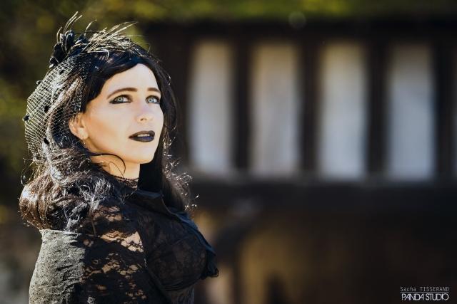 The Dark Lady : Avec  Calli Tia